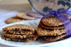 Receta de Galletas de avena y chocolate