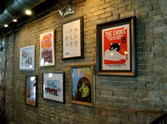 Framed Music Posters