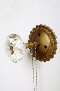 vintage door knob.