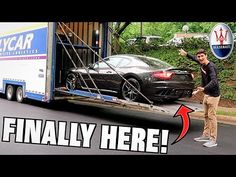 Taking Delivery Of My New Maserati Granturismo MC!! - YouTube Maserati Granturismo, Advertising, Delivery, News, Youtube, Commercial Music, Youtubers, Youtube Movies