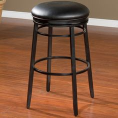 Features Black Upholstery 360 Swivel As Well As Floor Glides Removable Seat Cushion No Floor Protector Yes Bar Stools Swivel Bar Stools Stool