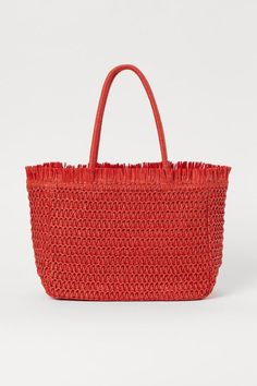6 Trendy Handbag Colors That Are Winning Spring 2021 | Who What Wear Spring Handbags, Trendy Handbags, New Handbags, Big Purses, Handmade Clutch, Green Handbag, Orange Bag, Paper Straws, Large Tote