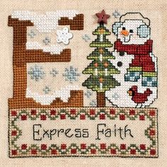 """October 2013 Pattern of the Month """"Express Faith"""""""