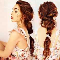The last look from my #titanic hairstyle tutorial! So glad you guys liked this one #rose #titanic #ponytail #braid #hairpost #jackiewyers #jhairday xo