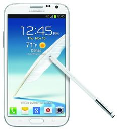 Samsung Galaxy Note II 4G Android Phone, White (AT) Big Discount