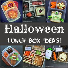 Keeley McGuire: Lunch Made Easy: Halloween Ideas for Kids