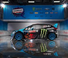 Ford Fiesta Ken Block 2013