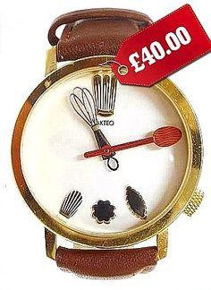 Clarissa Dickson Wright's chef's watch.  Love it.