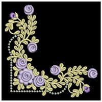 Rose Decor 2 - Sweet Heirloom Embroidery   OregonPatchWorks