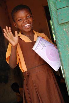 school girl in Ghana