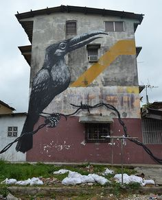 ROA, Panama This is Art, not Mine nor yours, but It deserves to be seen...by everyone...Share it...