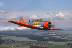 Buy Classic Harvard Flight with Aerobatics Fighter Aircraft, Fighter Jets, Cool Pictures, Cool Photos, South African Air Force, Navy Marine, Aviation Art, Vintage Racing, War Machine