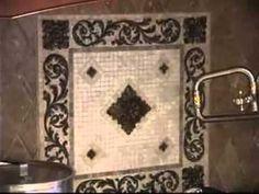 tile medallions for kitchen backsplash | kitchen backsplash tiles