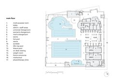Chimo Aquatic and Fitness Centre floor plan