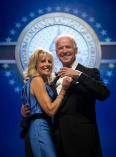 Vice President Joe Biden With Dr. Jill Biden