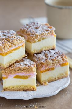 Polish Desserts, Dinner Party Desserts, Calzone, Cheesecakes, Baking Recipes, Nom Nom, French Toast, Food And Drink, Sweets