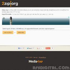 2zip.org - Descomprime archivos ZIP [diversos formatos ZIP]