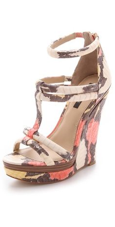 The Rachel Zoe 'Katia' platform wedges Fab Shoes, Dream Shoes, Crazy Shoes, Wedge Shoes, Cute Shoes, Me Too Shoes, Shoes Heels, Wedge Sandal, Keds