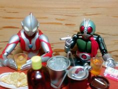 Ultraman hangin' out with Kamen Rider, number TWO! #toys #ultraman #kamenrider #japan #funny #toy #actionfigures #actionfigure #figures #figure #kaiju #motorcycle #motorcycles