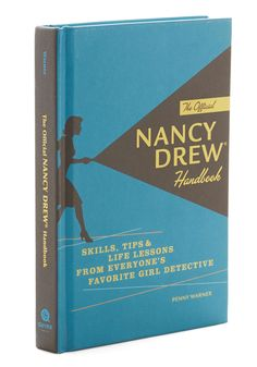 The Official Nancy Drew Handbook - Multi Vintage Inspired Good Nifty Nerd Gals Scholastic/Collegiate I Love Books, Books To Read, My Books, Detective, Nancy Drew Books, Nancy Drew Mysteries, Mystery Books, Vintage Books, Retro Vintage