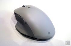 Surface Book 2 にあわせて、米マイクロソフトはSurfaceブランドの新マウス Surface Precision Mouse も発表しています。 サーフェス プレシジョン マウスは、サイドに3つを含む6ボタンとホイール、親指を置けるサムレストを備えた据え置き用マウス。 販売中の無印 Surfac...