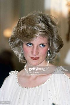 Diana, Princess Of Wales At The Hotel De Ville In Hamburg Wearing A Dress Designed By Fashion Designer Victor Edelstein Get premium, high resolution news photos at Getty Images Royal Princess, Princess Of Wales, Prince And Princess, Prince Harry Diana, Princes Diana, Princess Diana Fashion, Princess Diana Pictures, Lady Diana Spencer, Spencer Family