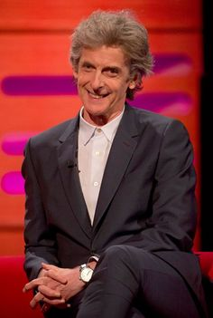 On the Graham Norton show. 14.4.17. Happy Birthday Peter !