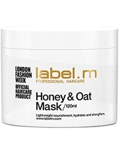 m Honey & Oat Treatment Mask For Dry and Dehydrated Hair Oz ml) Latest Hairstyles, Cool Hairstyles, Hair Masks, Good Hair Day, Fashion Labels, Health Tips, Hair Care, Honey, Link