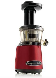 Omega VRT400HDM Vertical Juicer - Cinnamon Red New