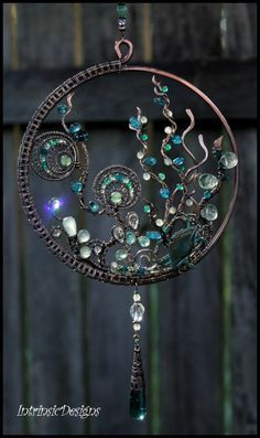 wire and bead art - Google Search