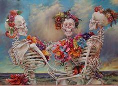 ArtSlant - Iva Morris....this painting seems very Dead to me....