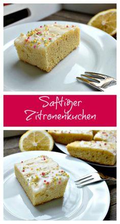 Das Rezept für diesen super zitronigen Zitronenkuchen ist easy, aber das Ergebnis verzückt alle.
