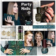 """""""Party Nails"""" by stylepersonal on Polyvore"""