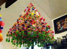 Polish Paper Chandeliers - Colorful Art You Can Create Yourself (GALLERY)