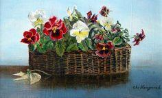 Pansies by Christiaan Hoogmoed