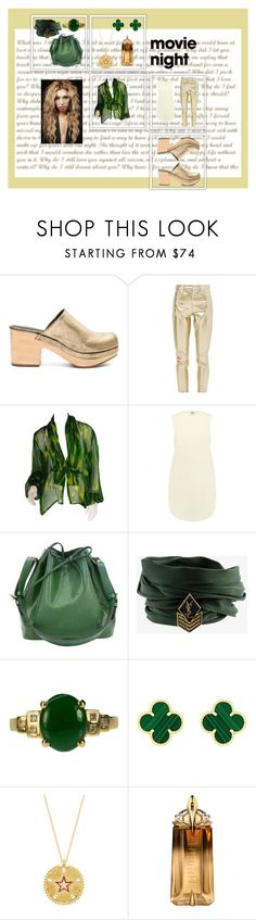 """""""Untitled #2563"""" by moestesoh ❤ liked on Polyvore featuring Rachel Comey, Topshop, Givenchy, Haute Hippie, Louis Vuitton, Yves Saint Laurent, Van Cleef & Arpels, Foundrae and Thierry Mugler"""