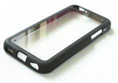 Tnz iPhone 5c Case TPU Bumper & 0.3mm thin Transparent Back Cover