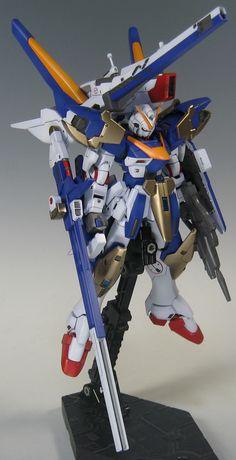 GUNDAM GUY: HGUC 1/144 V2 Assault Buster Gundam - Painted Build