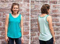 Free pattern: Women's simple summer tank   Sewing   CraftGossip   Bloglovin'