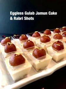 Eggless Gulab Jamun Cake and Rabri Shots – Food, Fitness, Beauty and More