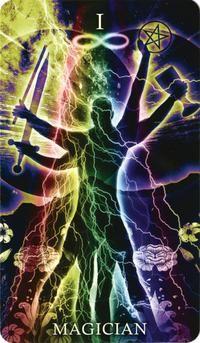 Healing Light Tarot the Magician
