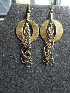 """O"" baby earrings"