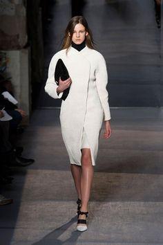 Proenza Schouler fall 2013 - great white coat