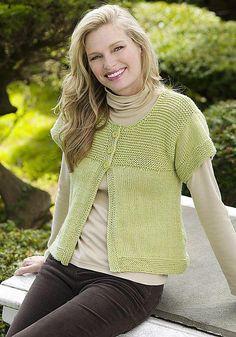 Ravelry: Simple Spring Swing Cardigan pattern by Jodi Snyder