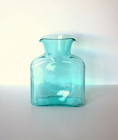 blenko water carafe (all different colors)