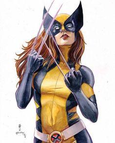 Wolverine by Garrie Gastonny   X-23