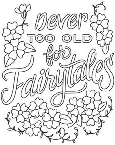 Warm Thoughts - Never Too Old for Fairytales | Urban Threads: Unique and Awesome Embroidery Designs