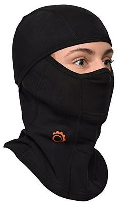 Balaclava by GearTOP, Best Full Face Mask, Premium Ski Mask and Neck Warmer for Motorcycle and Cycling, Black Motorcycle Mask, Helmet Liner, Best Skis, Full Face Mask, Balaclava, Neck Scarves, Neck Warmer, Skiing, Cycling