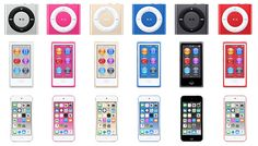 Full Lineup of Colors for Upcoming iPod Refresh Includes New Blue, Gold, and Pink Options