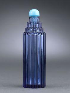 Antique Glass, Lalique Glass, Je Reviens Glass Perfume Bottle ~ M.S. Rau Antiques